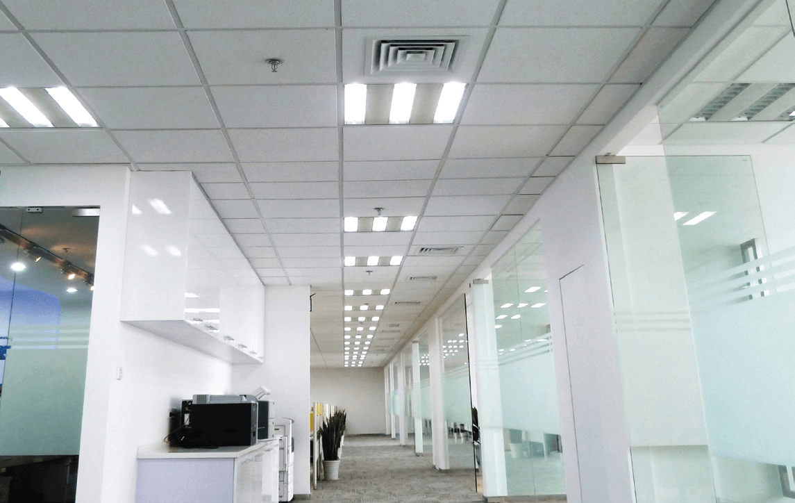 Exposed t grid archives solid ceilings acoustic fissured ceiling tiles dailygadgetfo Choice Image